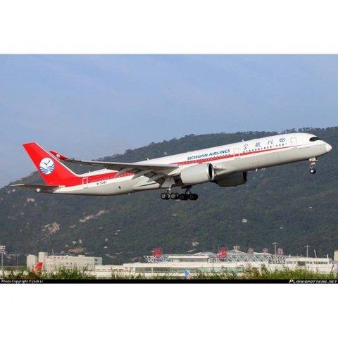 A350-900 Sichuan Airlines B-304U 1:200 flaps
