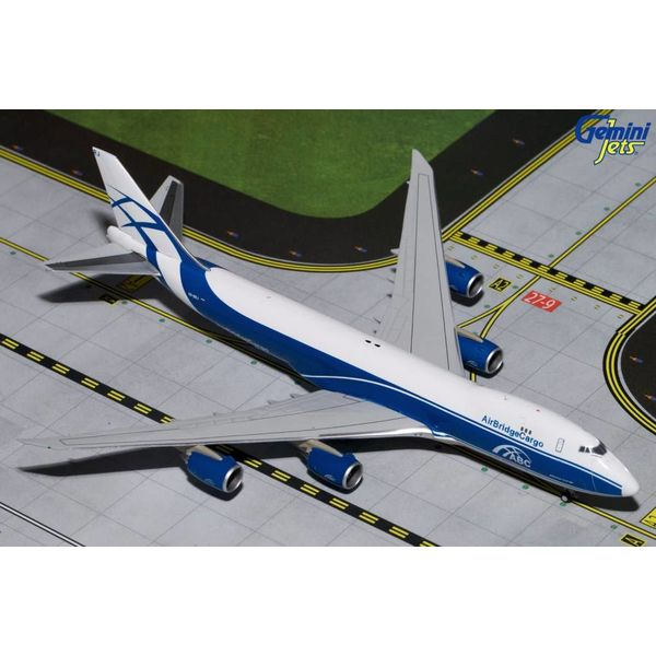 Gemini Jets B747-8F Air Bridge Cargo VQ-BRJ 1:400
