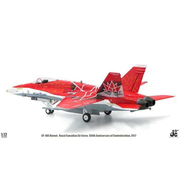 JC Wings CF188A Hornet RCAF CANADA 150 2017 Demo Team 188734 Livery 1:72 (no stand)