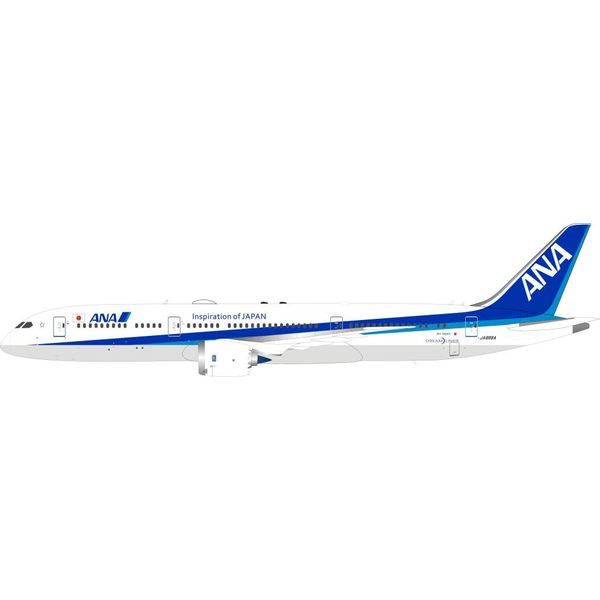 InFlight B787-9 Dreamliner All Nippon Airways ANA JA888A 1:200 with stand