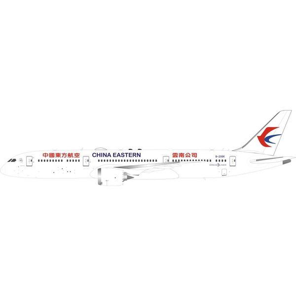 InFlight 787-9 Dreamliner China Eastern Airlines B-206K 1:200 with stand