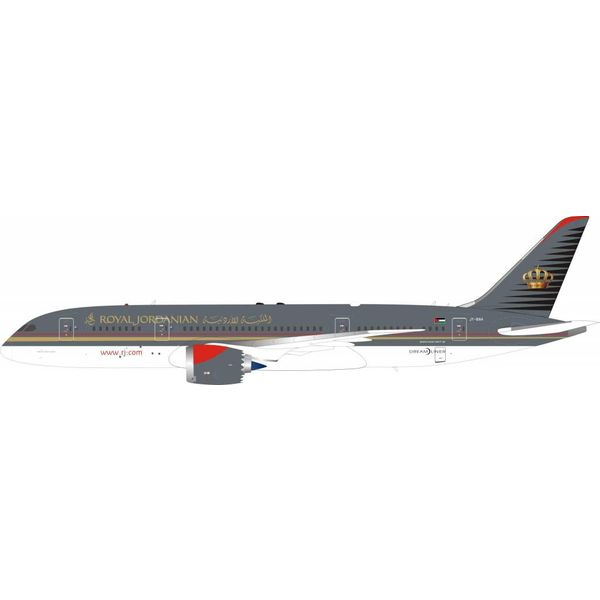 InFlight B787-8 Dreamliner Royal Jordanian JY-BAH 1:200