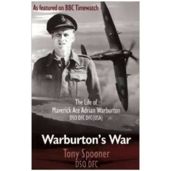 Crecy Publishing Warburton's War: Life of Maverick Ace Adrian Warburton softcover
