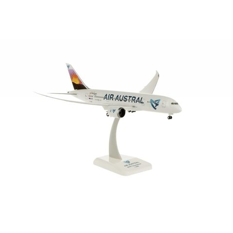 B787-8 Dreamliner Air Austral F-OLRB 1:200 with gear + stand