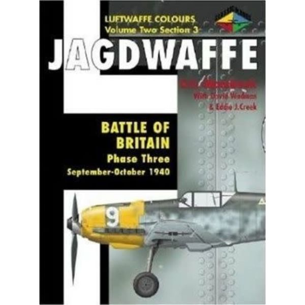 Classic Publications Jagdwaffe: Luftwaffe colours: Vol.2.Sec.3: Battle of Britain Phase 3 softcover