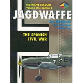 Classic Publications Jagdwaffe: Luftwaffe Colours: Vol.1.Sec2: Spanish Civil War softcover