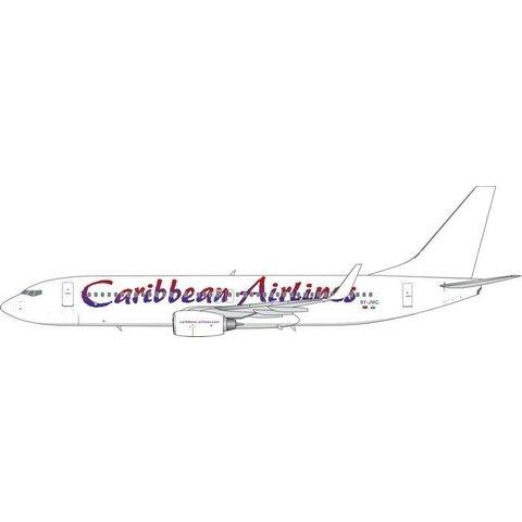 B737-800W Caribbean White Tail 9Y-JMC 1:400