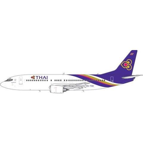 B737-400 Thai Airways New Titles HS-TDD 1:400