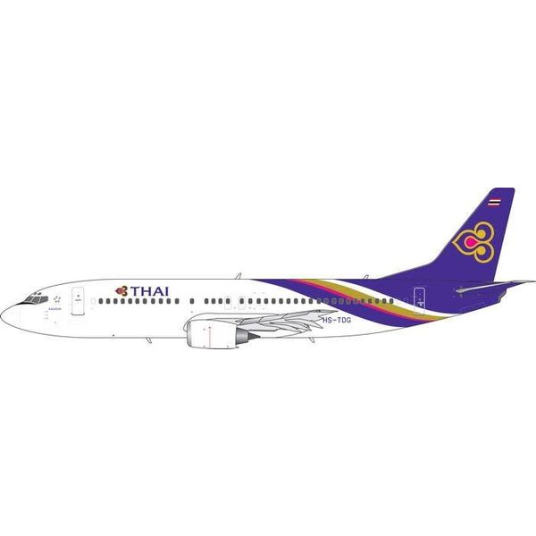 Phoenix B737-400 Thai Airways Old Titles HS-TDG 1:400