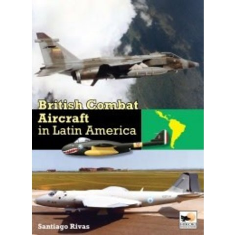 British Combat Aircraft in South America hardcover