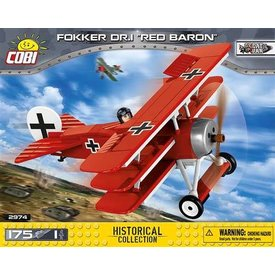 Cobi Fokker DR1 Red Baron Cobi 175 pieces