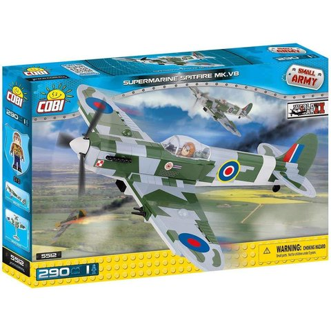 Supermarine Spitfire VB RAF Cobi Historical Collection 290 pieces