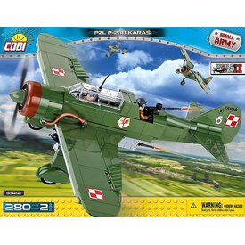 Cobi PZL P23 Karas Polish Construction Toy 280 pcs