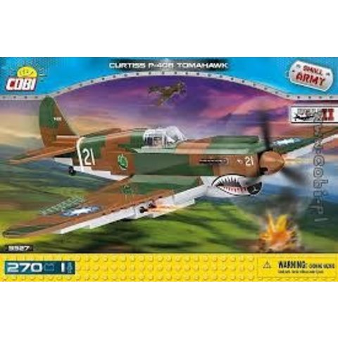 P40 Tomahawk USAAF Flying Tigers AVG China Cobi Historical Collection 270 pieces