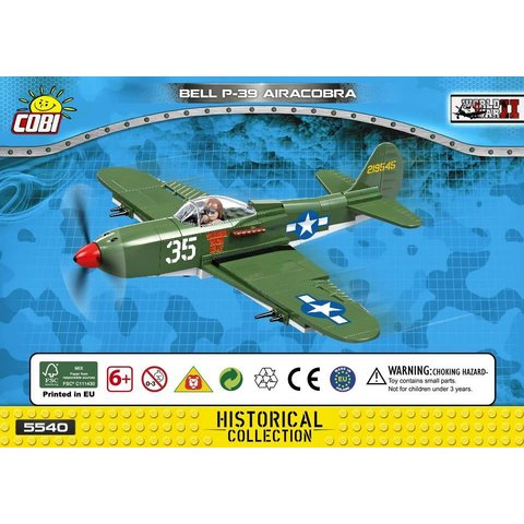 P39 Airacobra USAAF WHITE 35 Cobi Historical Collection 231 pieces
