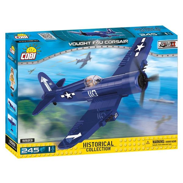 Cobi F4U Corsair US Navy WHITE 110 Cobi Historical Collection 245 pieces