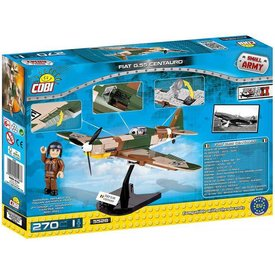 Cobi Fiat G55 Centauro Italian Air Force Cobi 270 pieces