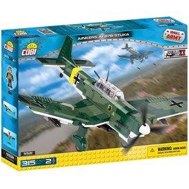 Cobi Junkers Ju87B Stuka Luftwaffe Historical Collection Cobi Construction Toy 315 pieces