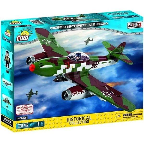 Cobi Messerschmitt Me262A Schwalbe Luftwaffe Historical Collection Cobi Construction Toy 315 pieces