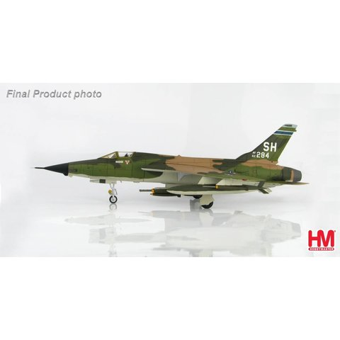 F105D Triple Mig Killer 465th TFS AFRES 1967 1:72 with stand