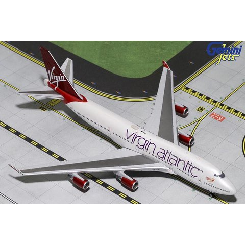 B747-400 Virgin Atlantic Tinker Bell G-VBIG 1:400