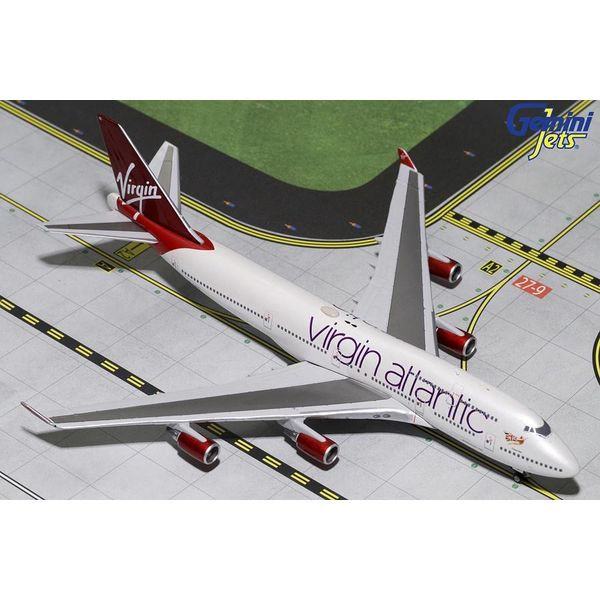 Gemini Jets B747-400 Virgin Atlantic Tinker Bell G-VBIG 1:400