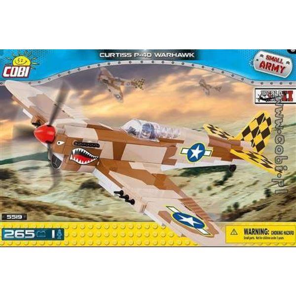 Cobi P40K Warhawk USAAF Desert Cobi Historical Collection 260 pieces
