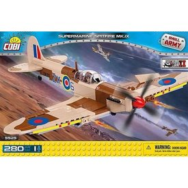 Cobi Supermarine Spitfire IX Tropical RAF 280 pieces