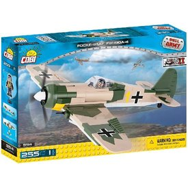 Cobi Focke Wulf FW190 A4 Luftwaffe Historical Collection Cobi Construction Toy 255 pieces
