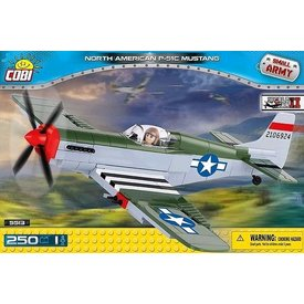 Cobi P51C Mustang USAAF D-Day Construction Toy