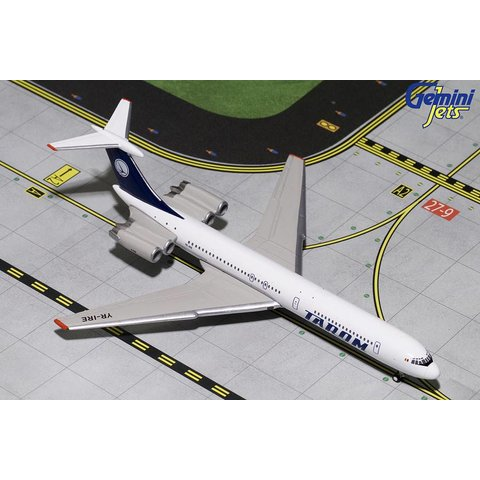 IL62M TAROM Old Blue Tail Livery YR-IRE 1:400