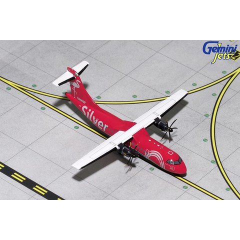 ATR42-600 Silver Airways Red / Silver N400SV 1:400