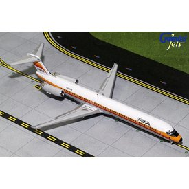 Gemini Jets MD80 PSA N930PS 1:200 with stand