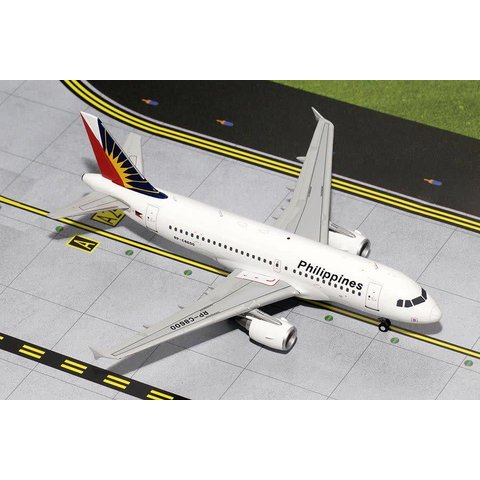 A319 Philippines Airlines RP-C8600 1:200 with stand