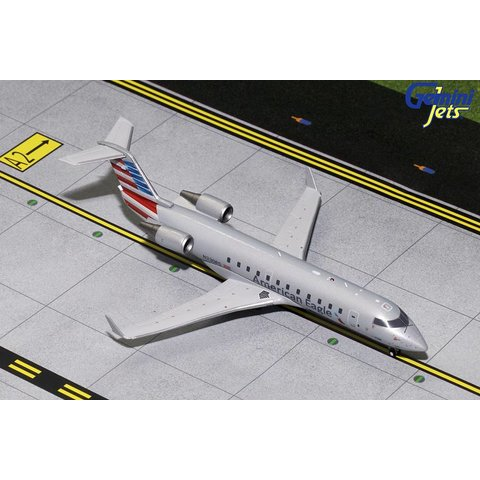 CRJ200 American Eagle N320PS 2013 livery 1:200 with stand