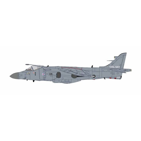 Sea Harrier FA2 800 NAS Fleet Air Arm HMS Invincible July 1995 1:72 with stand