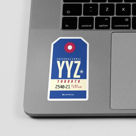 Sticker YYZ