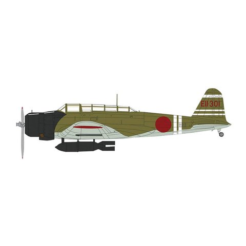 B5N2 Kate LCdr.Shigekazu Shimazaki IJN Zuikaku EII-301 Pearl Harbor 1:72 with stand