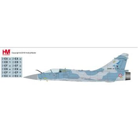 Mirage 2000-5F French Air Force Armee de 'Air SPA 3 Cigogne de Guynemer RAF Waddington 1:72 with stand