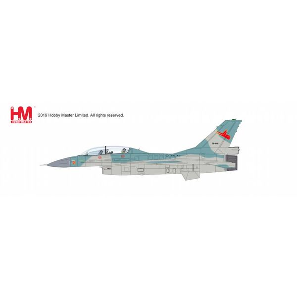 Hobby Master F16B Block 15 TS-1601 TNI-AU Indonesian Air Force 2001 1:72 with stand