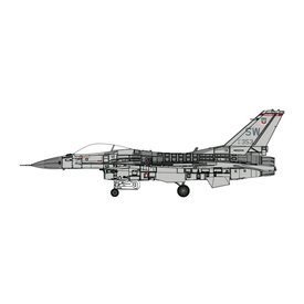 Calibre Wings F16C Fighting Falcon 78th FS Shaw AFB USAF SW 1:72+ NEW TOOLING!+