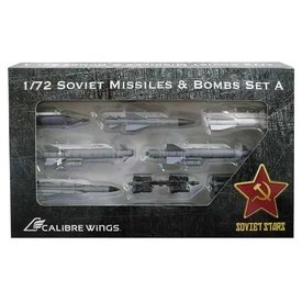 Calibre Wings Soviet Missile & Bomb Ordnance Set 1:72