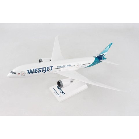 B787-9 Dreamliner WestJet C-GUDH 1:200 with stand