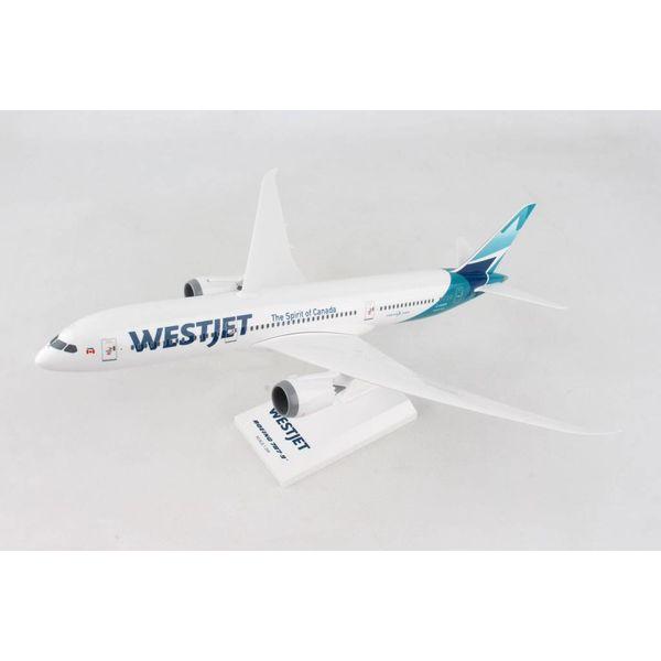 SkyMarks B787-9 Dreamliner WestJet C-GUDH 1:200 with stand