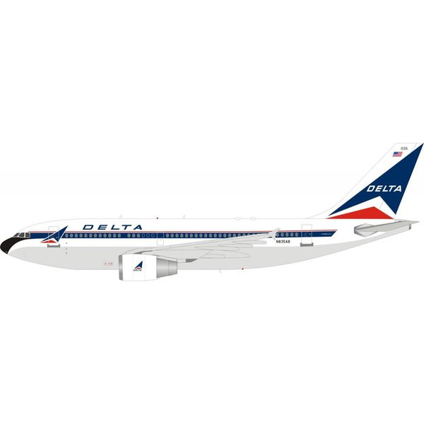 InFlight Airbus A310-300ET Delta Airlines Widget N835AB 1:200 With Stand