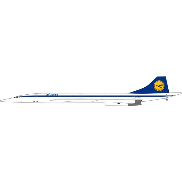 InFlight Concorde Lufthansa D-ASST 1:200 With Stand