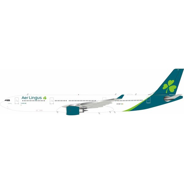 InFlight Airbus A330-300 Aer Lingus New livery 2019 EI-EDY 1:200 With Stand