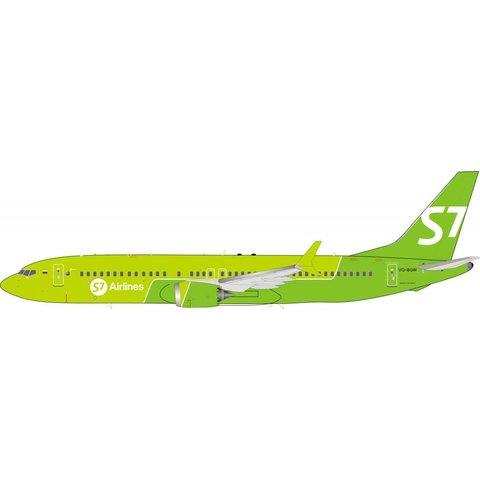 Boeing B737 MAX 8 S7 - Siberia Airlines VQ-BGW 1:200 With Stand