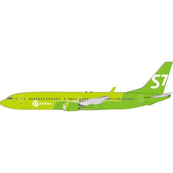 InFlight Boeing B737 MAX 8 S7 - Siberia Airlines VQ-BGW 1:200 With Stand