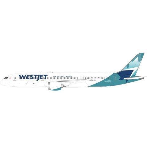 B787-9 Dreamliner Westjet New c/s C-GUDH 1:200